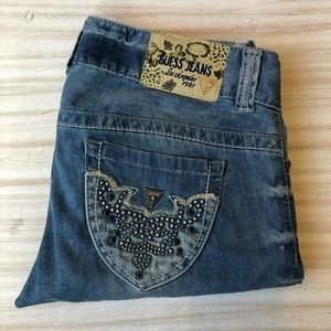 Guess Jeans Los Angeles 1981 Daredevil Boot Cut